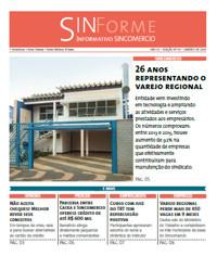 Capa de uma das edições impressas do SinForme