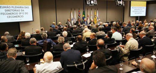 20/02/2017 - Fecomercio - Plenaria_da_Diretorias_FecomercioSP_e_CECOMERCIO - São Paulo - SP