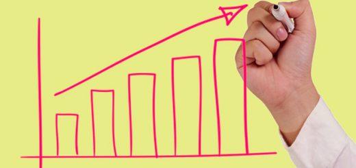 Na comparação anual, tanto pequenas como grandes empresas registraram crescimento na confiança no mês