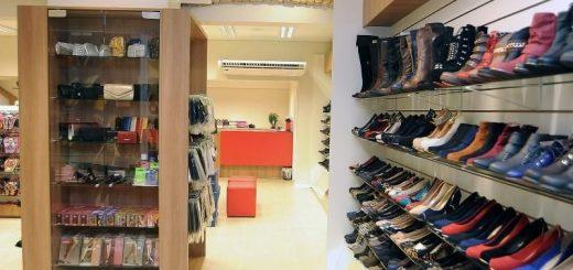 lojas de calcados