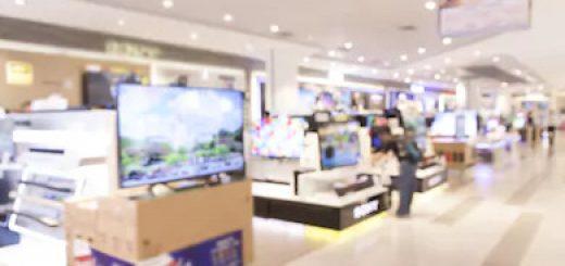 Destaque para o setos de eletrodomésticos, eletrônicos e lojas de departamentos